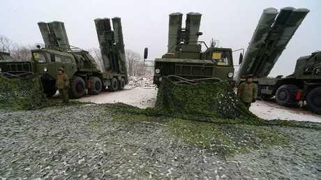 """منظومات """"إس-400"""" الروسية المضادة للجو"""