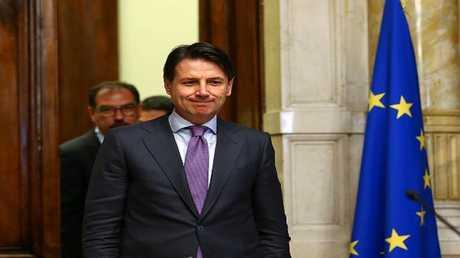 رئيس الوزراء الإيطالي المكلف، جوزيبي كونتي