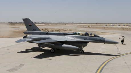 """مقاتلة عراقية من نوع """"F-16"""""""