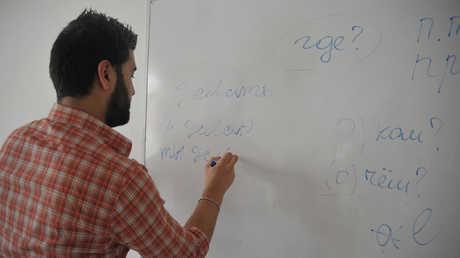 طالب سوري- صورة أرشيفية