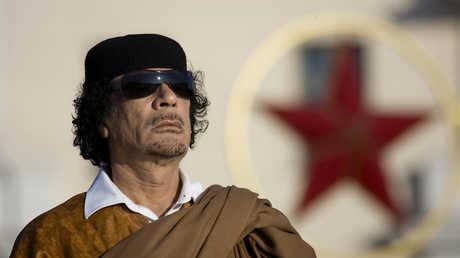 معمر القذافي في بيلاروس - 2008