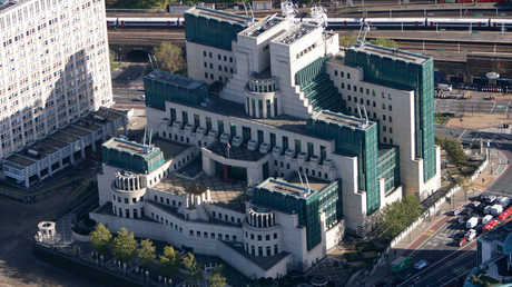 مقر جهاز الاستخبارات البريطانية السرية MI6 في لندن