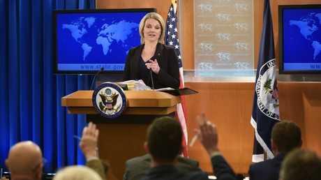 المتحدثة باسم وزارة الخارجية الأمريكية، هيذر نويرت