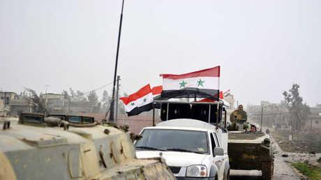 قوات سورية (صورة أرشيفية)