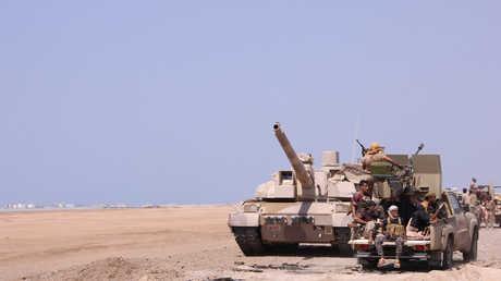 قوات موالية للرئيس اليمني عبدربه منصور هادي