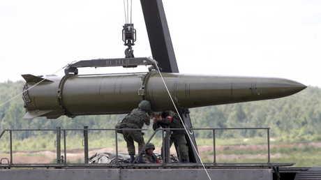 صاروخ اسكندر الروسي - أرشيف
