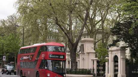 مقر السفارة الروسية في لندن