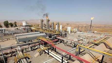 أحد حقول النفط في العراق - أرشيف