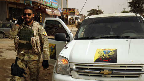 أحد عناصر الجيش الوطني الليبي