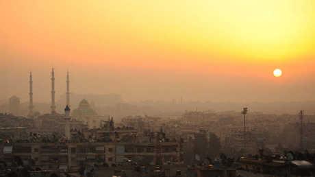 مدينة حلب السورية- صورة من الأرشيف