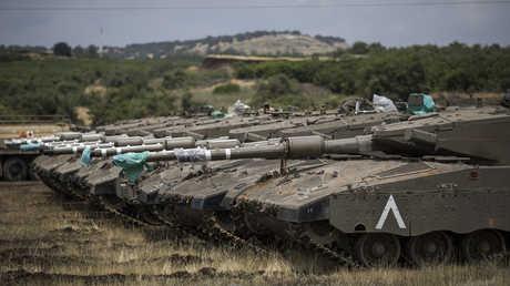 دبابات إسرائيلية