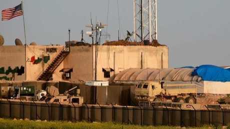 قاعدة أمريكية في منبج- صورة أرشيفية