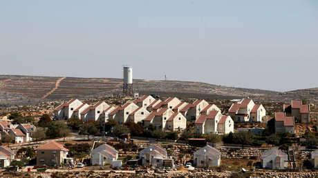 مستوطنة إسرائيلية على أراضي الضفة الغربية الفلسطينية المحتلة