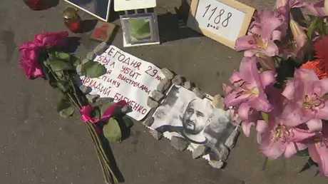موسكو: تمثيلية اغتيال الصحفي استفزازية