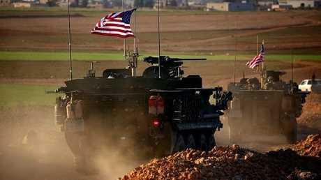 القوات الأمريكية في منبج بشمال سوريا - أرشيف