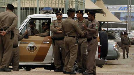 عناصر من الشرطة السعودية