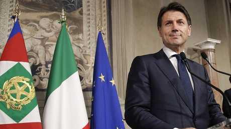 جوزيبي كونتي، رئيس الحكومة الإيطالية الجديدة