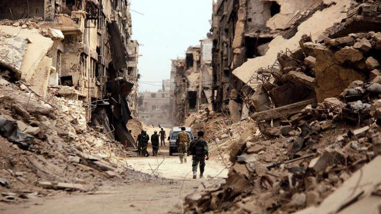 البحث عن جثث 5 جنود سوريين قتلهم