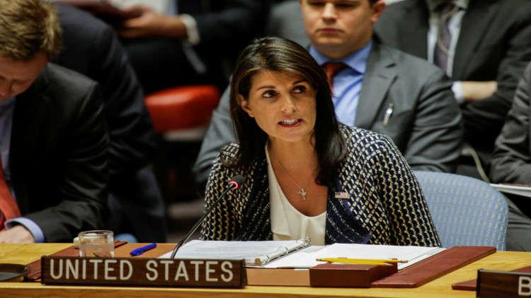 واشنطن تتوعد باستخدام الفيتو ضد مشروع قرار كويتي يطالب بحماية الفلسطينيين