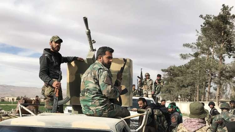 9200 من أبناء الغوطة الشرقية ينضمون لصفوف الجيش السوري