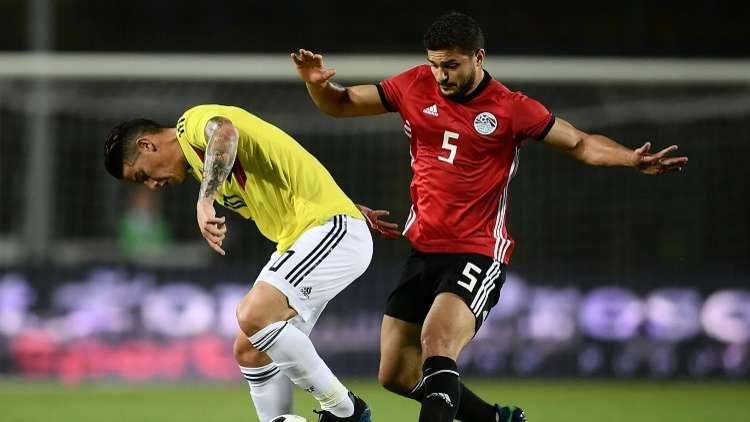 مصر وكولومبيا لا غالب ولا مغلوب.. فيديو