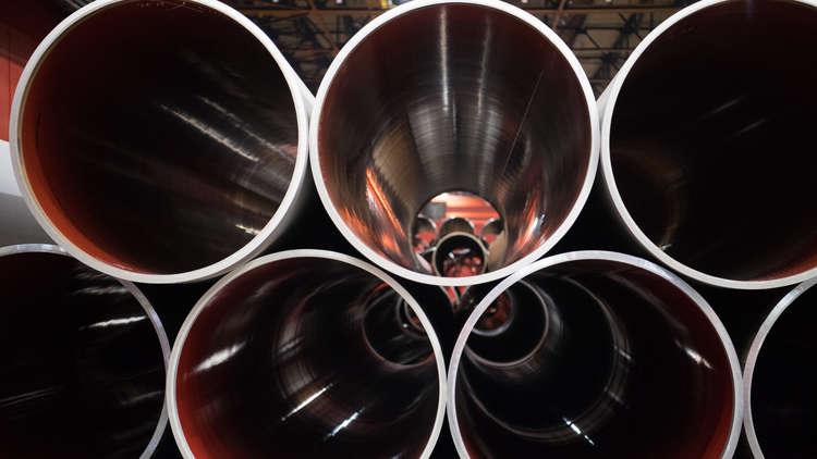 واشنطن تخطط لفرض عقوبات على شركات أوروبية بسبب الغاز الروسي