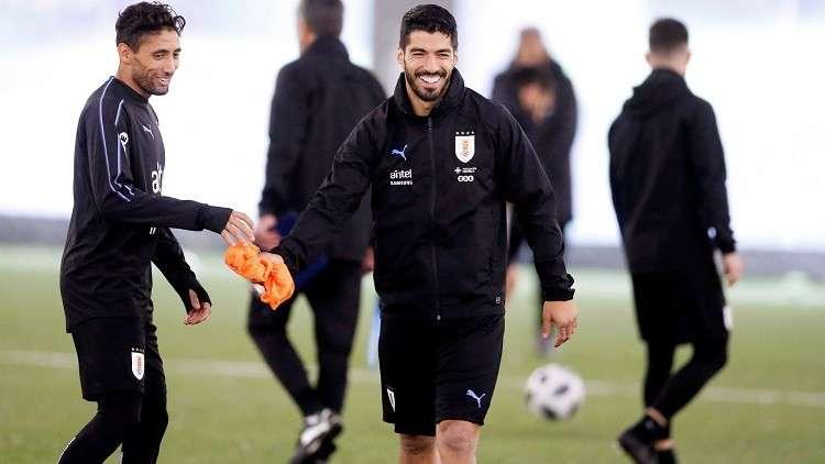 سواريز وكافاني على رأس قائمة أوروغواي لمونديال 2018