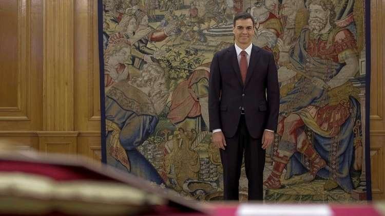 بيدرو سانتشيث رئيسا لوزراء إسبانيا