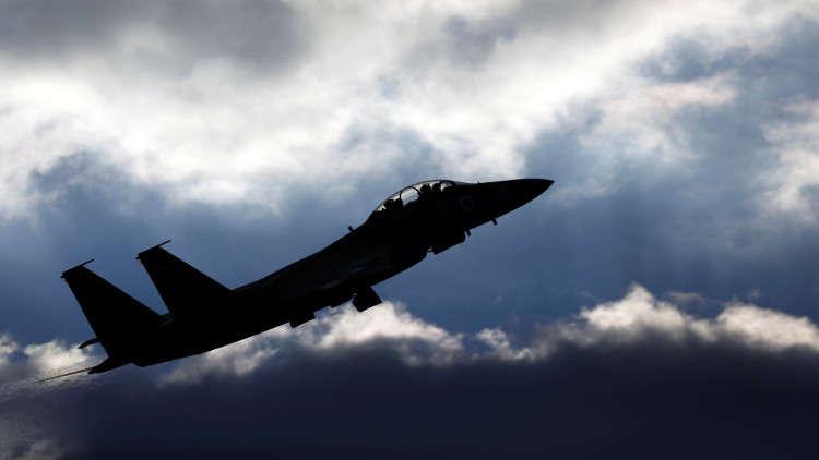 سلاح الجو الإسرائيلي ينشر فيديو استهداف مواقع لحماس في قطاع غزة