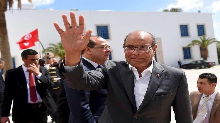 الرئيس التونسي السابق محمد المنصف المرزوقي