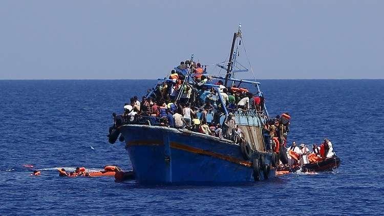 ارتفاع حصيلة قتلى غرق مركب مهاجرين غير شرعيين في تونس