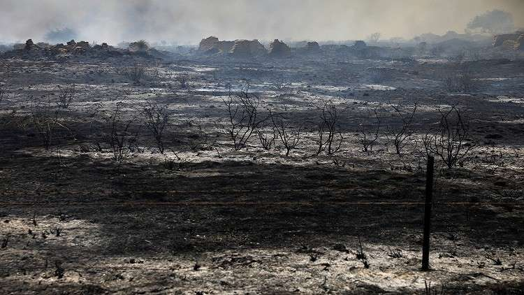 حرائق ضخمة في غلاف غزة وإسرائيل تستعين بالطائرات لإخمادها