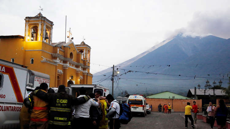 غواتيمالا.. ارتفاع عدد الضحايا جراء ثوران بركان