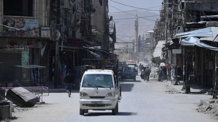إعادة تأهيل مستوصف في مدينة دوما السورية