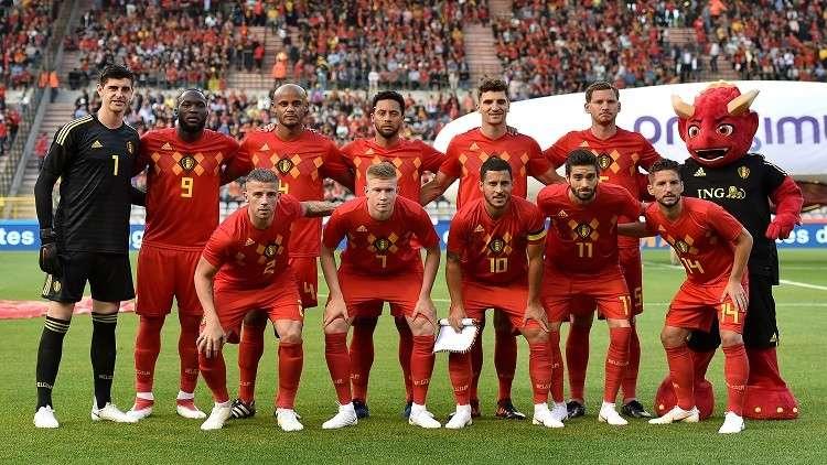 تعرف على تشكيلة منتخب بلجيكا التي ستخوض مونديال روسيا