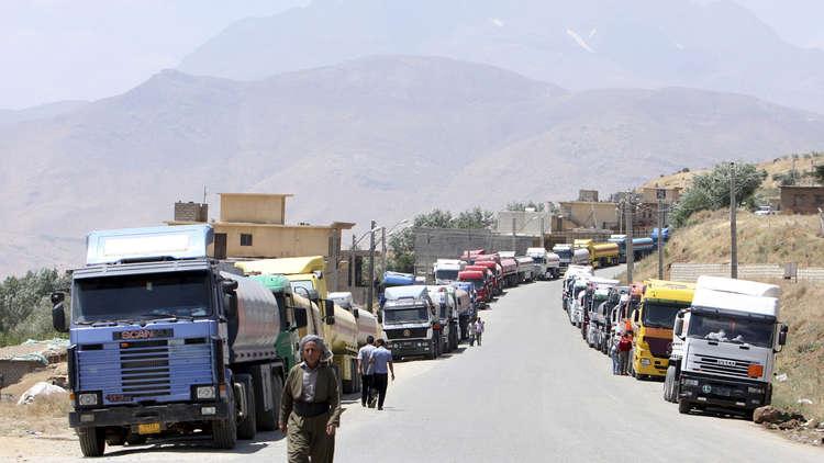 العراق يبدأ مقايضة نفط كركوك مع إيران