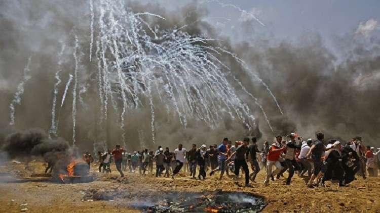 روسيا قلقة من تصاعد العنف في غزة وتدعو لاحترام حق التظاهر السلمي للفلسطينيين