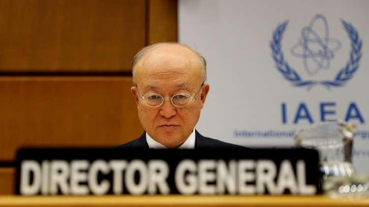 أمانو: إيران ملتزمة بالكامل بالاتفاقية النووية