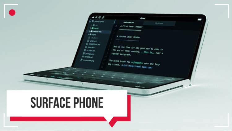 هاتف Surface من مايكروسوفت.. أنباء تعود إلى الواجهة