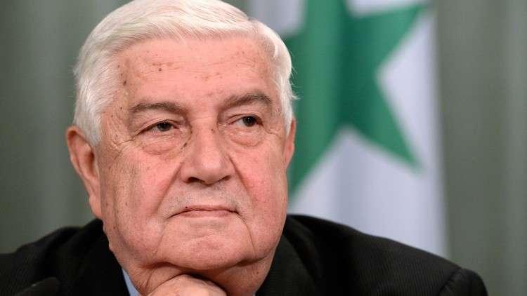 وليد المعلم يرد على وزير الخارجية اللبناني بشأن القانون 10