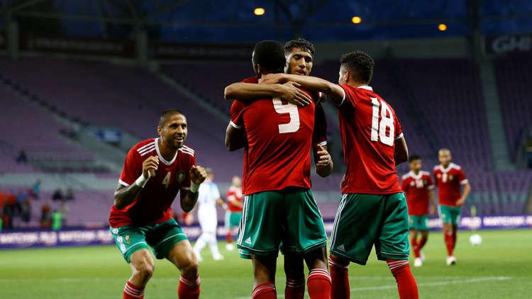 المغرب يهزم سلوفاكيا وديا استعدادا للمونديال