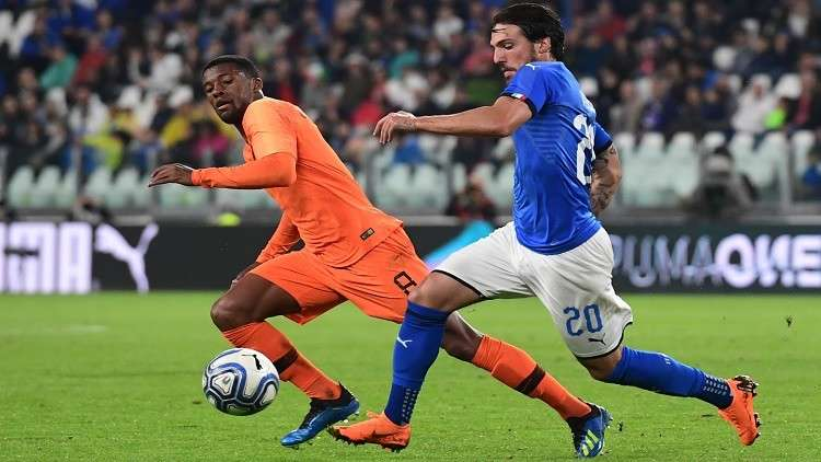 ودية بلا مونديال.. إيطاليا تتعادل مع هولندا
