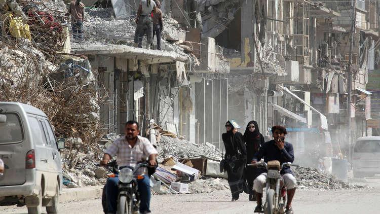 العفو الدولية: هجمات التحالف على الرقة السورية انتهكت القانون الدولي