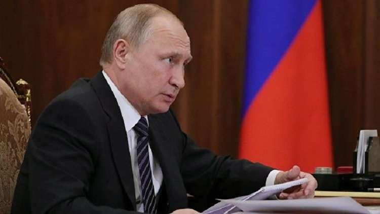 بوتين يقيل 6 جنرالات من وزارات إنفاذ القانون