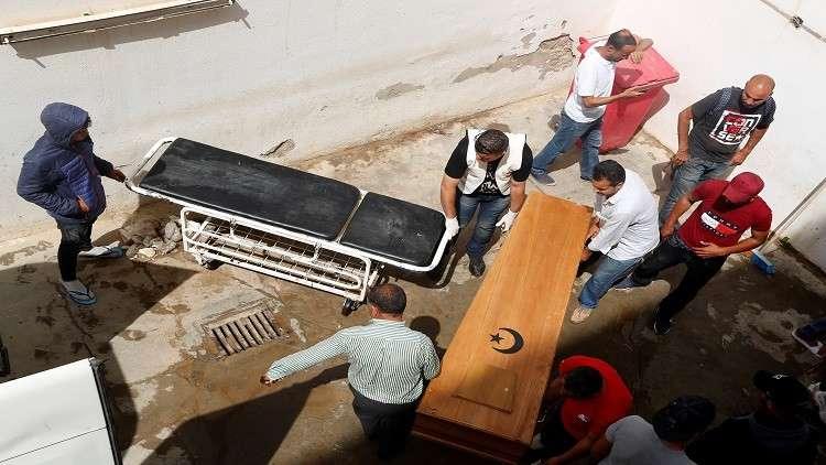 تونس.. انتشال 55 جثة لمهاجرين غرق قاربهم في جزيرة قرقنة