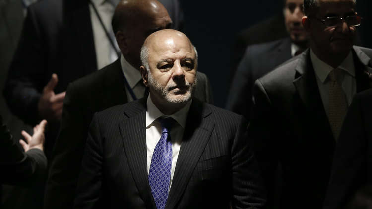 العبادي يدعو تركيا إلى احترام سيادة العراق