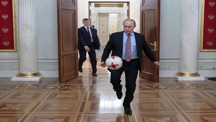 بوتين يتحدث عن لاعب كرة القدم المفضل لديه