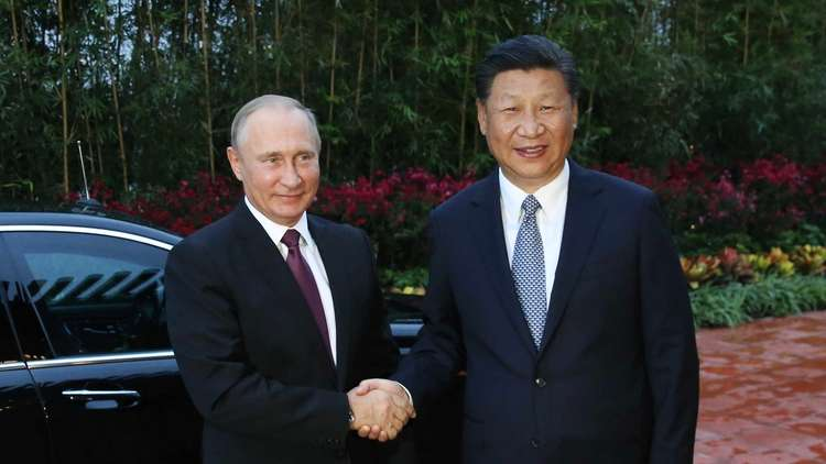 مشاريع نقل ضخمة على جدول أعمال القمة الروسية الصينية