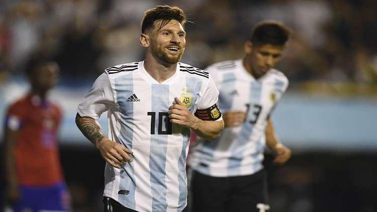 ميسي ساهم في إلغاء ودية الأرجنتين مع إسرائيل
