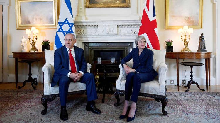 ماي تؤكد لنتنياهو قلق لندن من قتل المتظاهرين الفلسطينيين